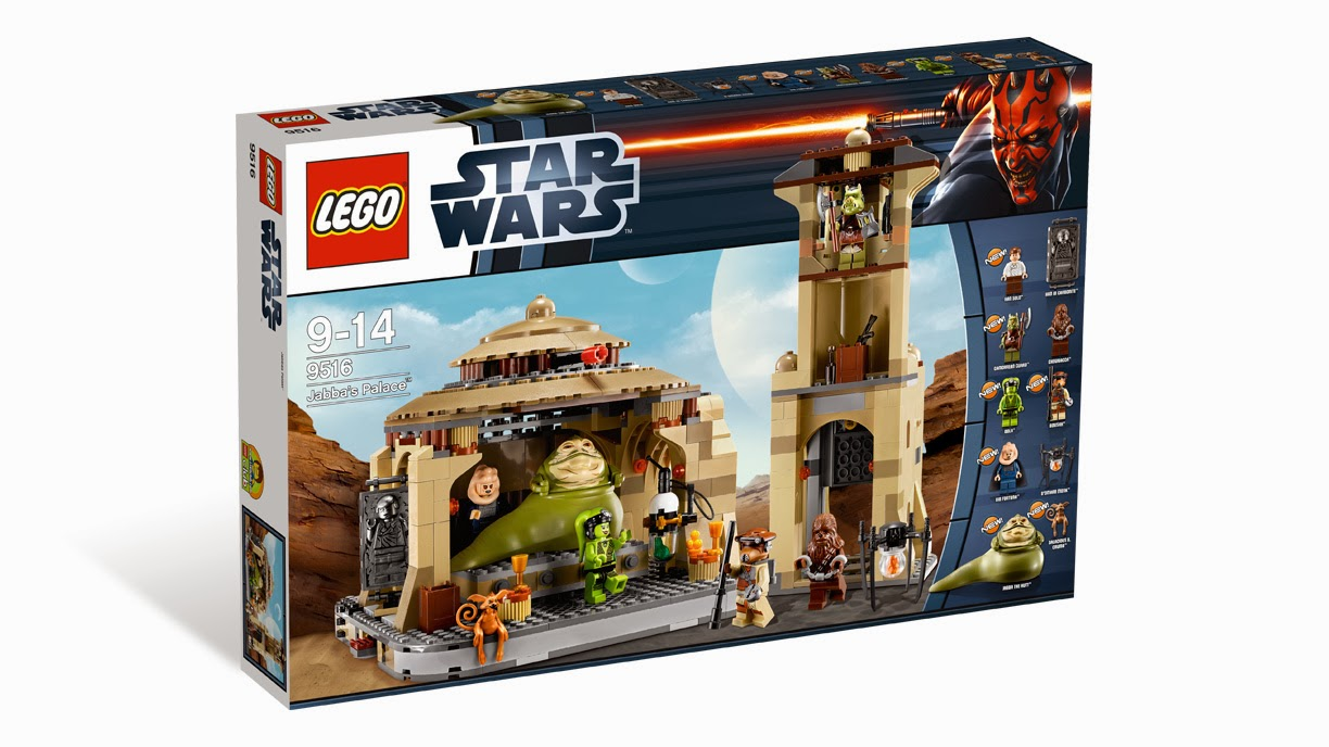 Disponible Amazon.es: LEGO Star Wars 9516 - Jabba's Palace