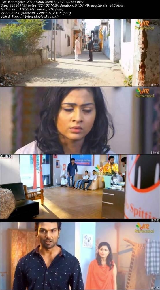 Khamiyaza 2019 Hindi 480p HDTV 300MB