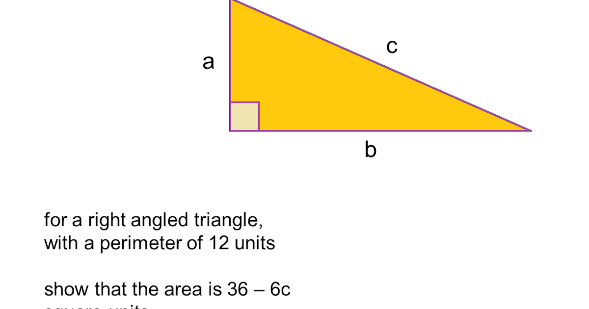 MEDIAN Don Steward mathematics teaching: right angled ...