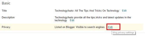 how to add your blog in search engines