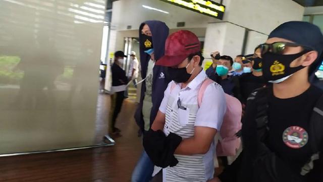 Ditangkap Polisi, Ini Penampakan Tersangka Peelecehan di Bandara Soetta