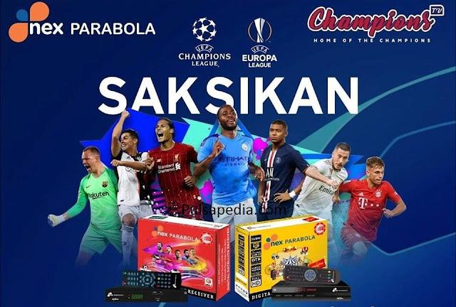 Daftar Channel Paket NEX Parabola Terbaru 2019