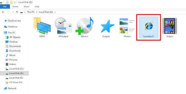 cara mudah mengubah dan mengganti tampilan icon folder di komputer (pc atau laptop)