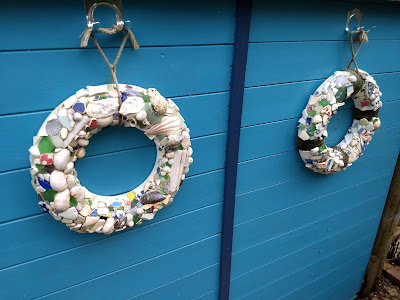 shell and pottery life rings