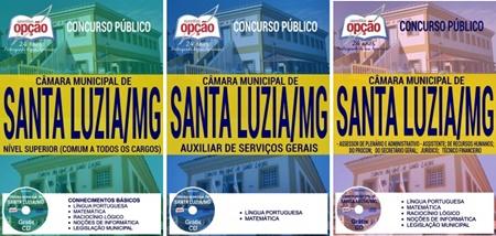 Apostila Câmara de Santa Luzia MG 2017