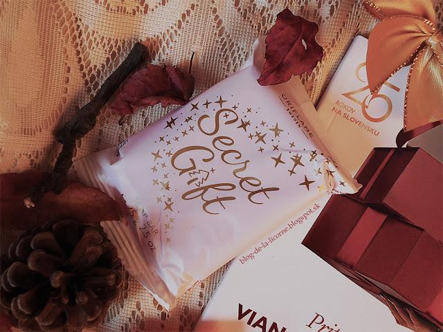 Oriflame mydlo Secret Gift recenzia