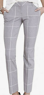 Sydney Fashion Hunter - The Monthly Wrap September 2015 - Grey Windowpane Colomnist Ankle Pants