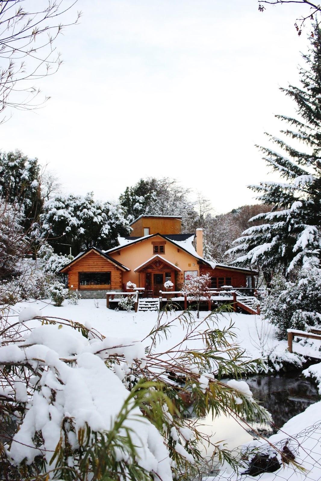 casas bariloche invierno