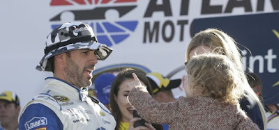 Atlanta Victory Vaults Johnson Into Elite Company (#nascar)