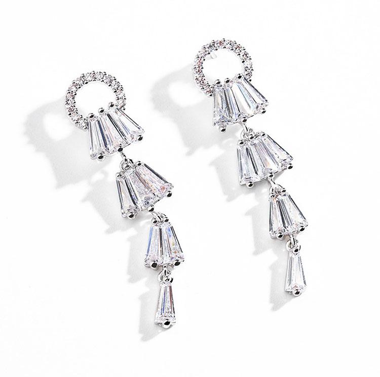 柔依華麗風水晶耳環