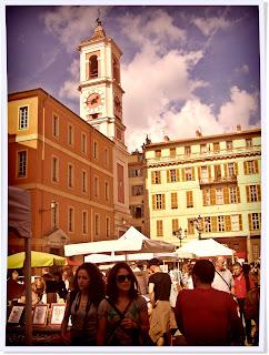 Nice, vieille ville, saleya, masséna, socca