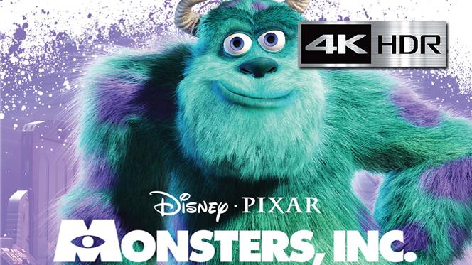 Monsters, Inc. (2001) 4K UHD [HDR] Latino-Castellano-Ingles