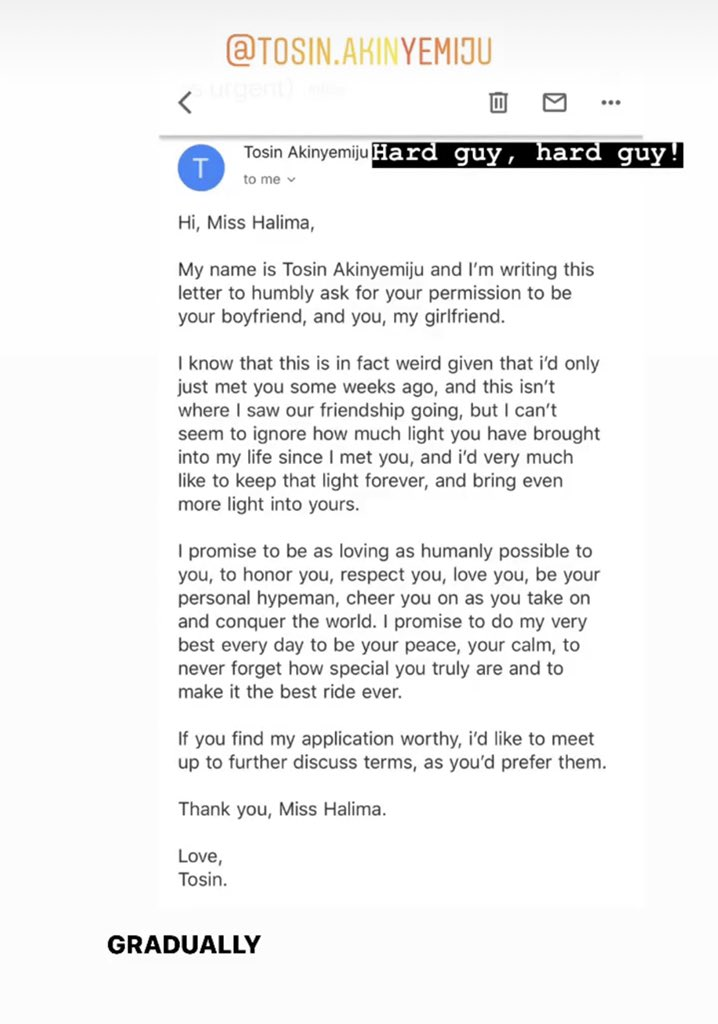 Man Trends As He Asks A Lady Out Via Gmail 2
