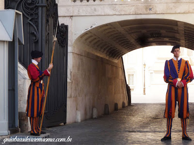 arco delle campane guia brasileira roma - Como ver o papa em Roma