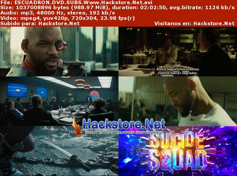 Capturas de Escuadrón Suicida (2016) DVDRip Subtitulada