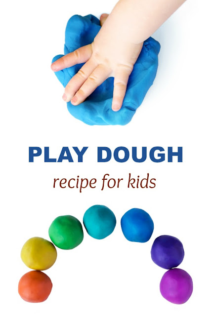 PLAY DOUGH RECIPE FOR KIDS (2 ingredients & no cooking!)  #playdoughrecipe #playdough #playdoughrecipenocook #playdoughrecipeeasy #wonderdough #playrecipesforkids