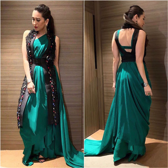 Karisma Kapoor Wears Anamika Khanna
