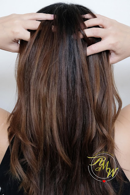 a photo of Innisfree My Hair Recipe Reparing Hair Sleeping Pack Review