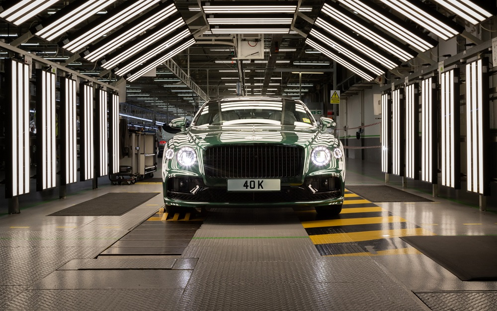 Bentley celebrates 40,000th Flying Spur produced