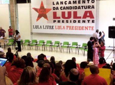PT lança candidatura de Lula durante greve dos caminhoneiros