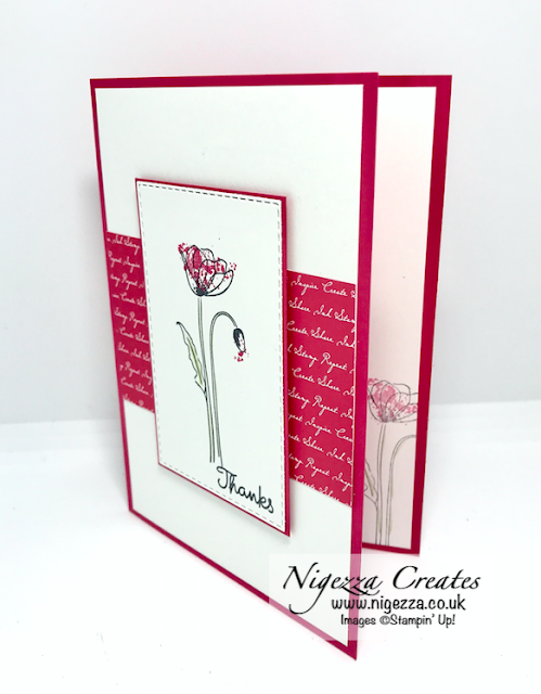 Nigezza Creates with Stampin' Up! and Painted Poppies
