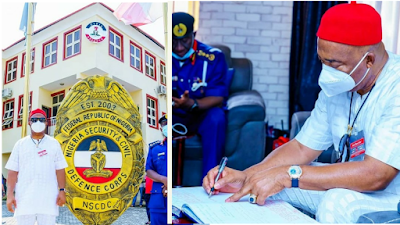 Imo State Governor Partners With Civil Defense Corp