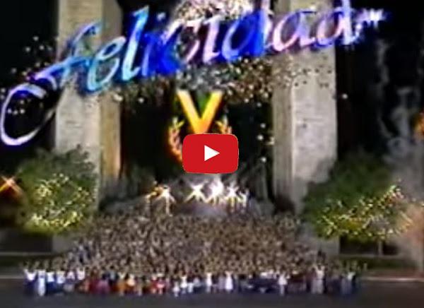 Los mensajes de navidad de Venevisión en el pasado.