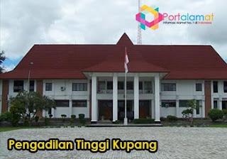 Alamat Pengadilan Tinggi Kupang