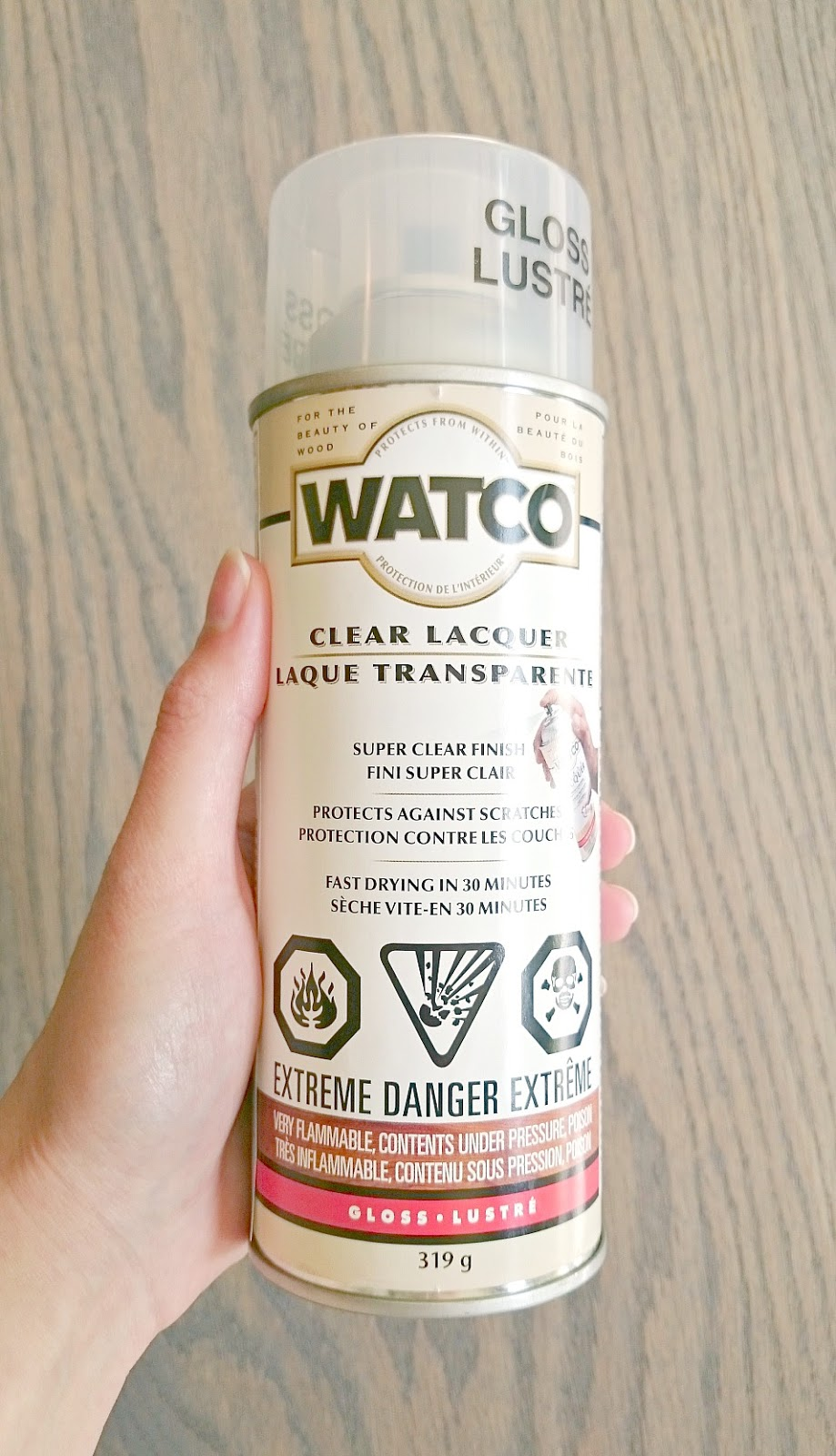 Watco Spray Lacquer Review