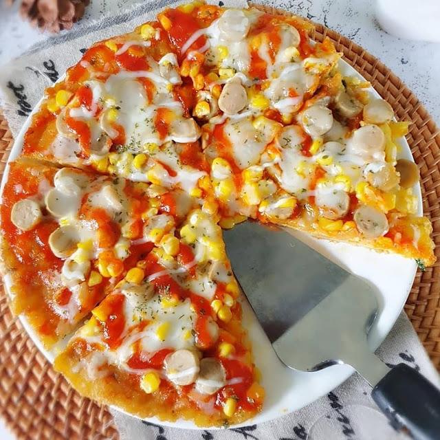 Resep Sajian Pizza Nasi Teflon Paling Unik dan Lezat