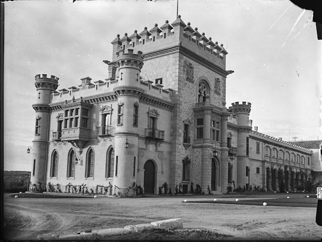 guerra civil toledo palacio sisla