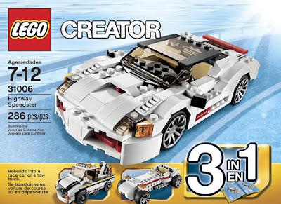 LEGO Highway Speedster 31006