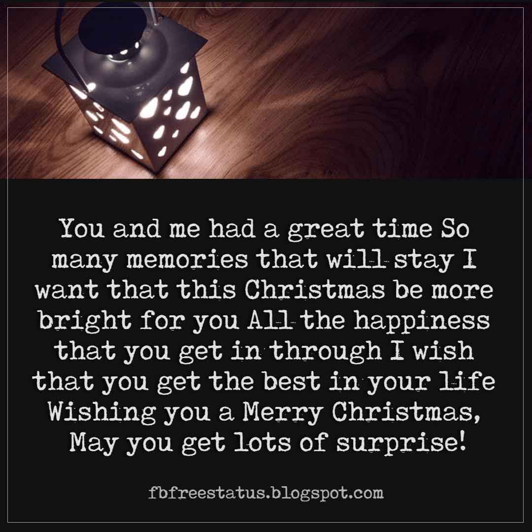 Merry Christmas Messages For Brother