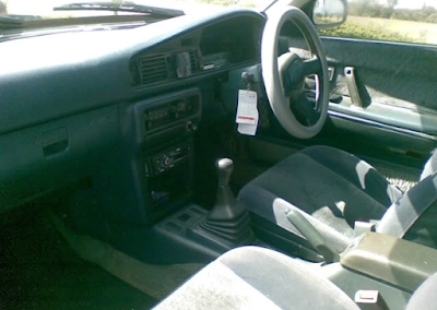 Interior Mazda 626 Capella