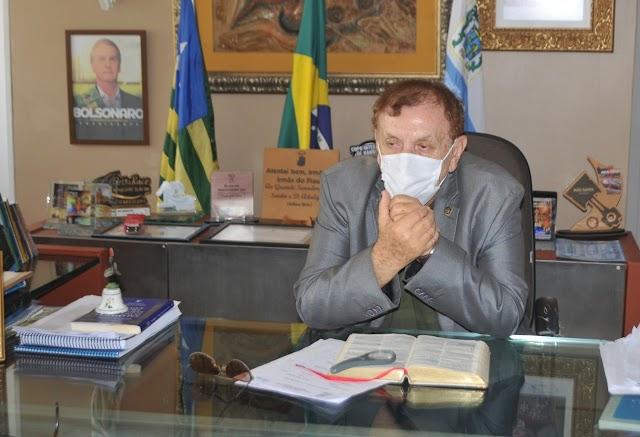 Prefeitura Municipal vai dar suporte para a vinda de policiais que farão operações contra a criminalidade em Parnaíba