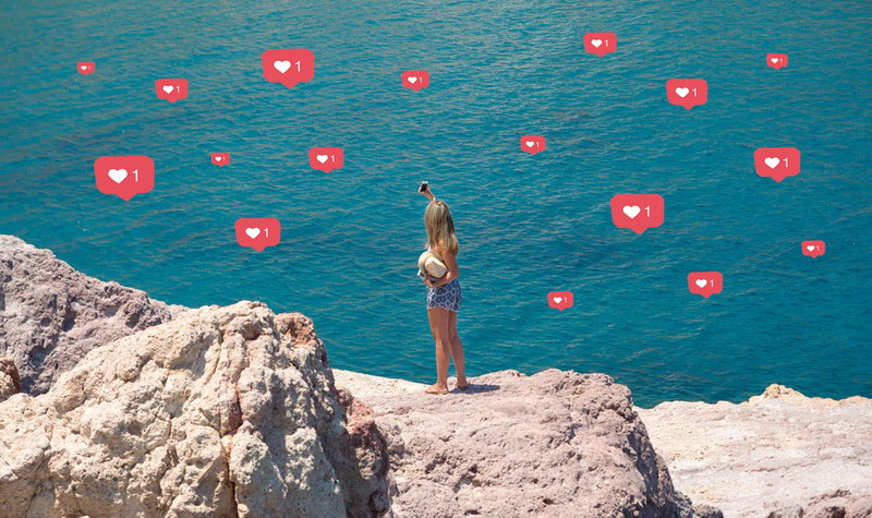 Οι «τέλειες» διακοπές του Instagram