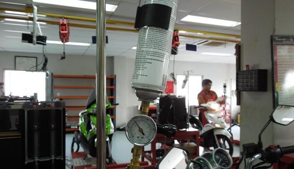 Biaya Servis Injeksi Sepeda Motor di Bengkel Resmi