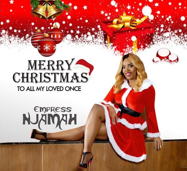 Actress Empress Njamah releases Christmas cards