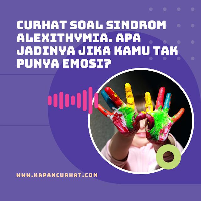 sindrom alexithymia