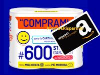 Logo Concorso ''Comprami la scelta che ti premia'' : vinci gratis buoni Amazon da 50€