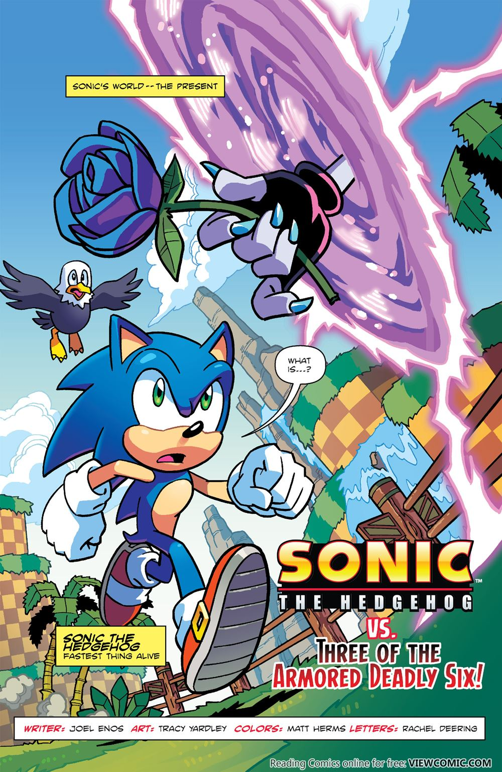 Sonic The Hedgehog Worlds Unite Battles 001 2015 Read All Comics Online For Free