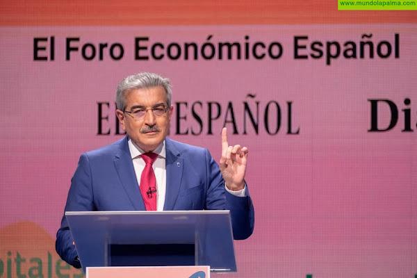 Rodríguez pide un último esfuerzo a los canarios para rematar al virus e iniciar la remontada