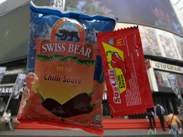 Betul Ke Sos Cili Swiss Bear Sama Dengan Sos Cili McDonalds?