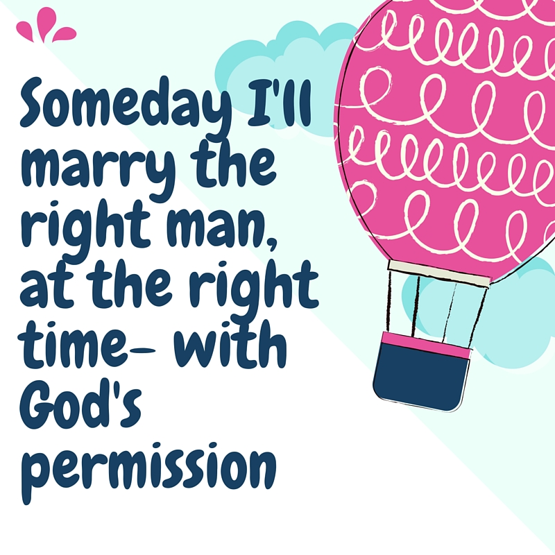 waiting on god for the right man