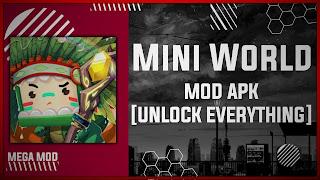 Mini World: Block Art MOD APK [UNLOCK ALL] Latest (V0.53.1)