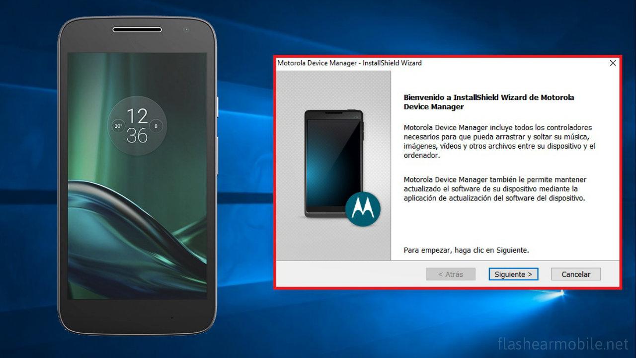 Descargar e instalar drivers Motorola