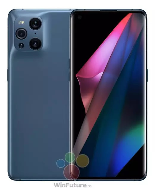 OPPO Find X3 Pro Silver