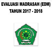 Download Contoh EDM Evaluasi Diri Madrasah