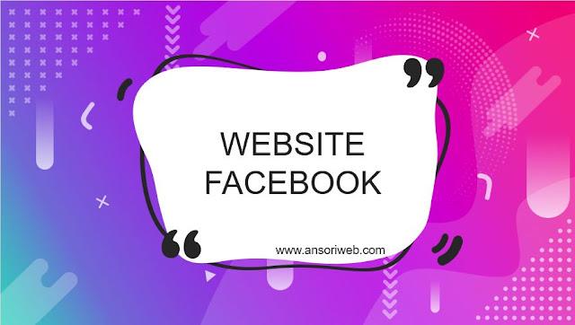 Cara Membuat Web Facebook dengan HTML dan CSS