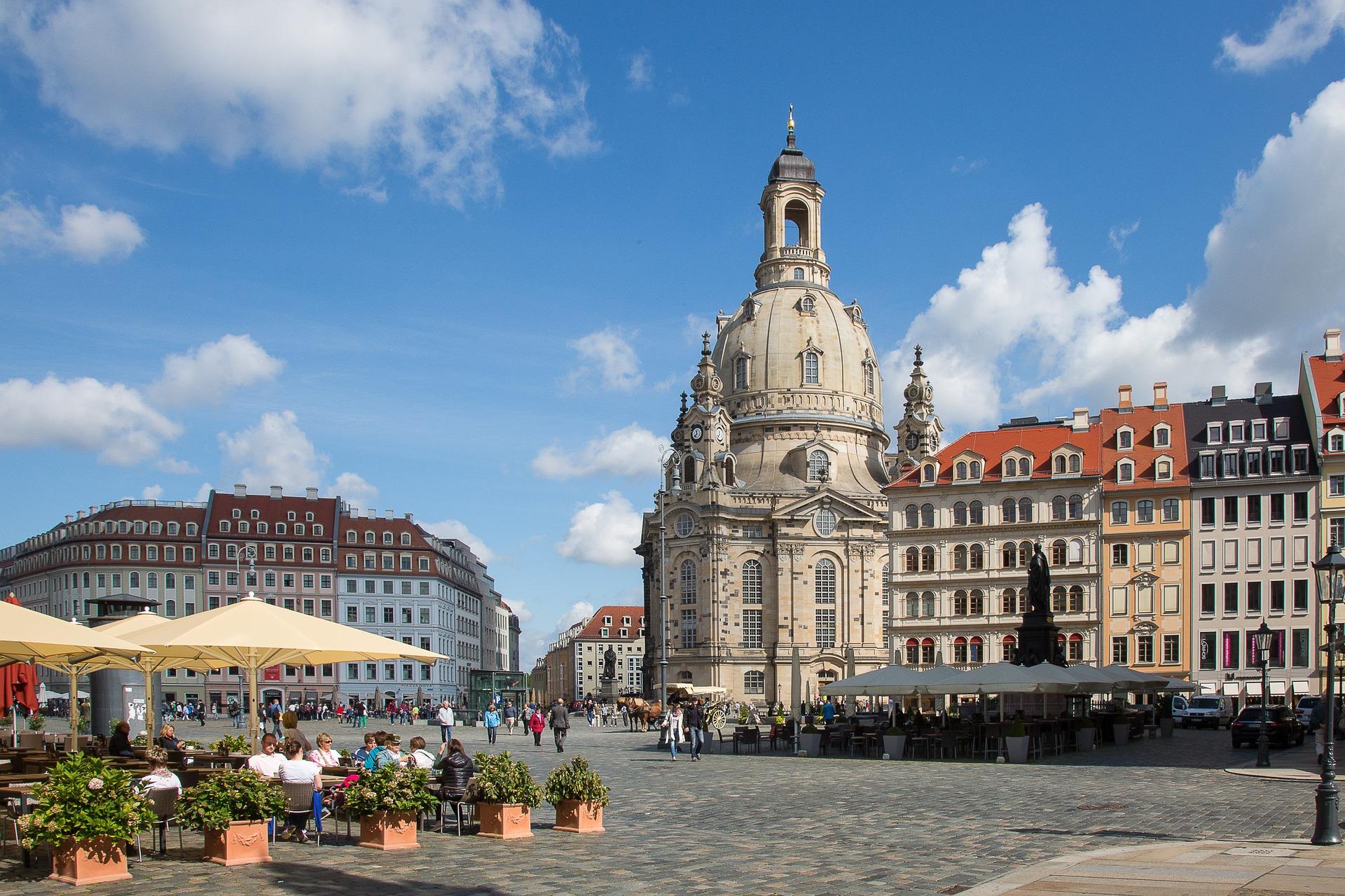 Dresden Frauenkirche Church